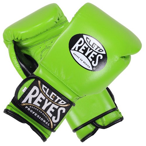 레예스 훅앤룹 트레이닝 글러브 12온스 Cleto Reyes Hook and Loop Closure Training Gloves 12oz (Green)