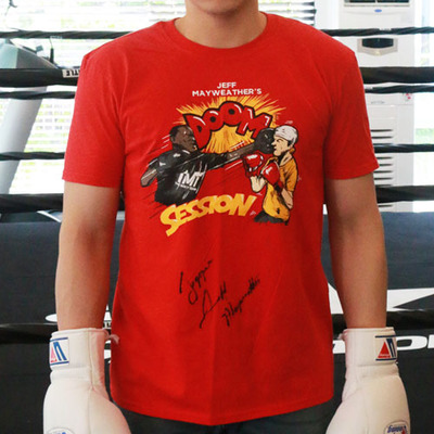 제프 메이웨더 티셔츠 JEFF MAYWEATHER DOOM SESSION T-SHIRTS(싸인)