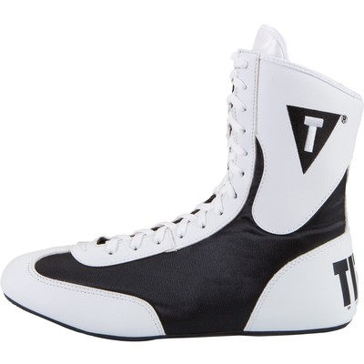 타이틀 스피드플렉스 복싱화 TITLE Speed-Flex Encore Mid Boxing Shoes-WHITE/BLACK