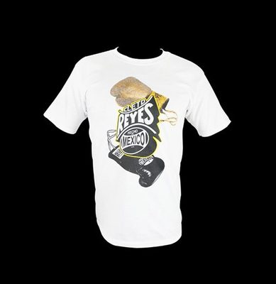 레예스 티셔츠 Cleto Reyes Cotton T-Shirt With Reyes Gloves