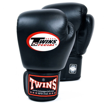 트윈스 글러브 Twins Special Leather Boxing Gloves BGVL-3 (black)
