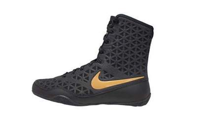 나이키 KO 복싱화 Nike KO Boxing Shoes - Black / Gold