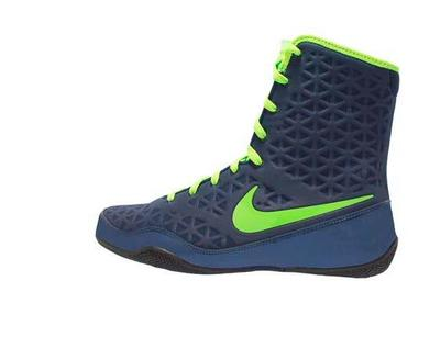 나이키 KO 복싱화 Nike KO Boxing Shoes - Navy / Electric Green
