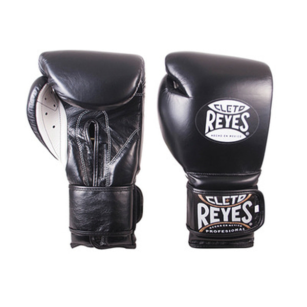 레예스 훅앤룹 트레이닝 글러브 14온스 Cleto Reyes Hook and Loop Closure Training Gloves 14oz (Black)