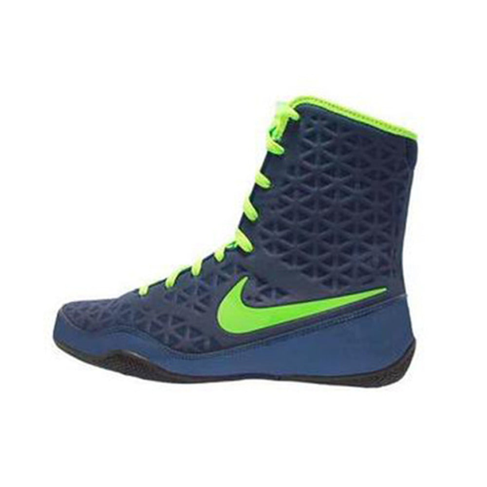 나이키 KO 복싱화 Nike KO Boxing Shoes - Navy / Electric Green 839421413