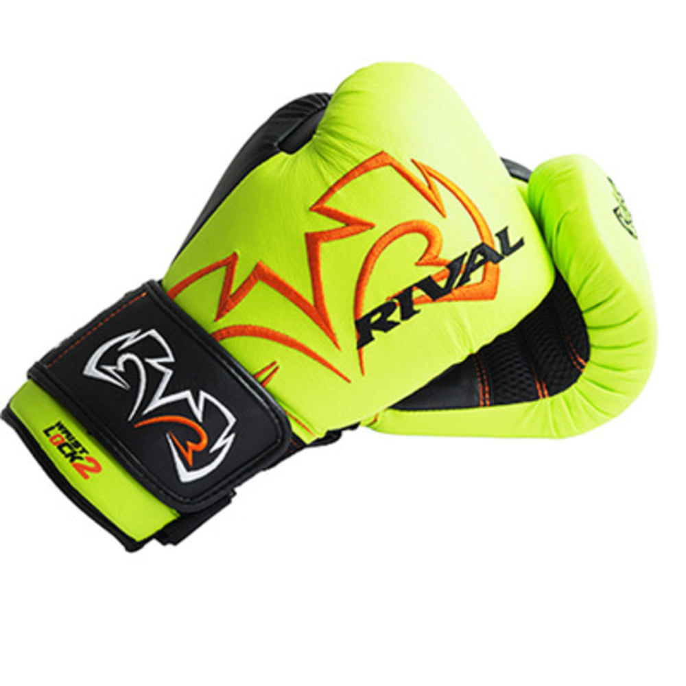 라이벌 에볼루션 백글러브 Rival RB11 Evolution Bag Gloves (Lime green)