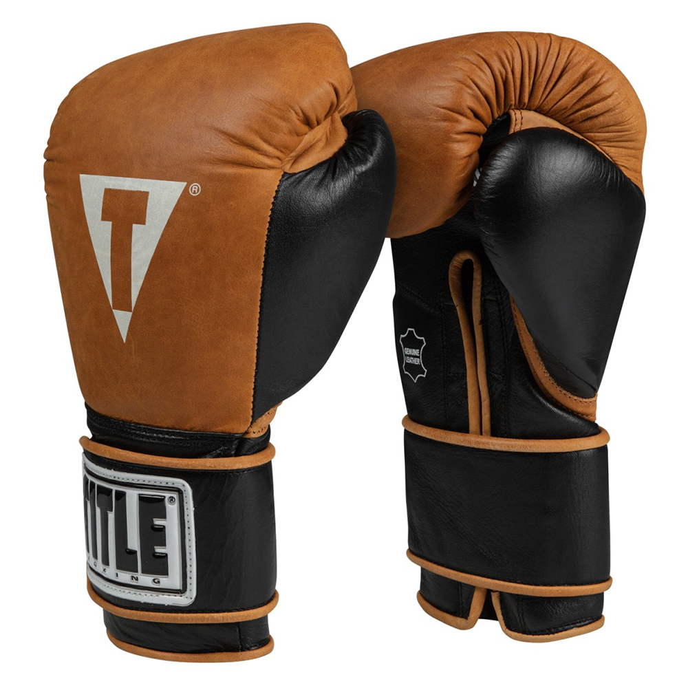 타이틀 빈티지 레더 트레이닝 글러브 (12oz,14oz) TITLE VINTAGE LEATHER TRAINING GLOVES [VGLTG]