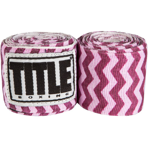 타이틀 세미-엘라스틱 프린트 핸드랩 ZIGZAG TITLE SEMI-ELASTIC PRINT HANDWRAPS ASSORTED