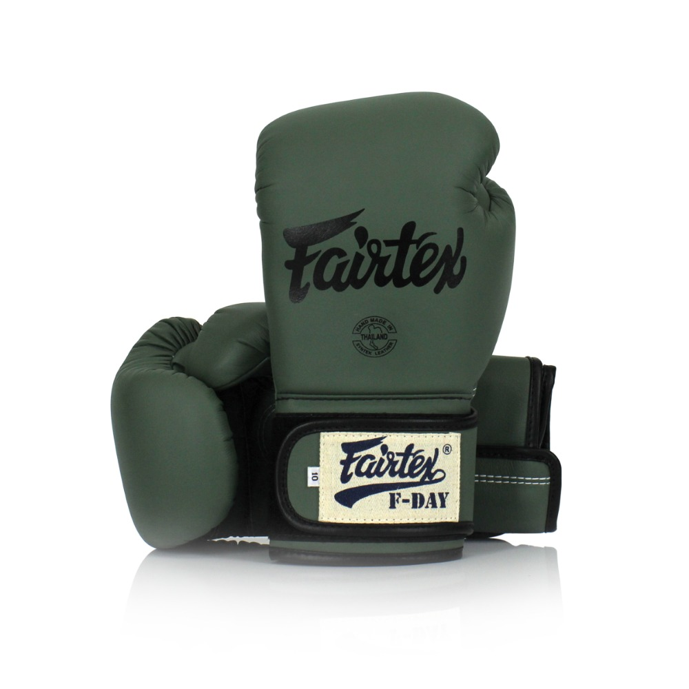 "페어텍스 ""F-DAY"" 한정판 글러브 그린 (12OZ,14OZ) FAIRTEX ""F-DAY"" LIMITED EDITION GLOVES GREEN"