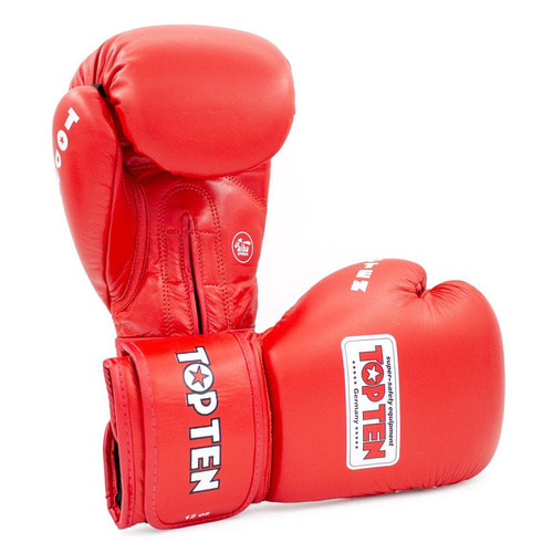 탑텐 AIBA 복싱 글러브 TOPTEN AIBA BOXING GLOVES 12OZ RED 레드