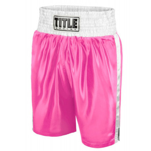 타이틀 엣지 복싱 트렁크 TITLE EDGE BOXING TRUNKS PINK/WHITE