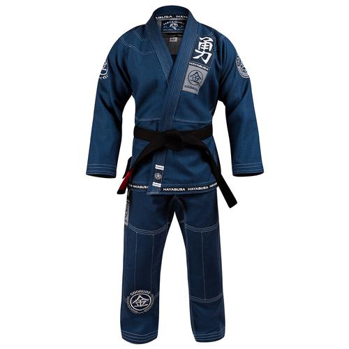 [하야부사] 구르도 3 골드 웨이브 주짓수 도복 블루 Goorudo 3 Gold Weave Jiu Jitsu Gi BLUE [GG3JJG-BL]