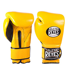 클레토 레예스 훅앤룹 트레이닝 글러브 14온스 Cleto Reyes Hook and Loop Closure Training Gloves 14oz (Yellow)
