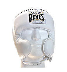 클레토 레예스 헤드기어 Cleto Reyes Cheek Protection Headgear(White)
