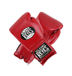 클레토 레예스 훅앤루프 글러브 벨크로 클로져 클래식 레드 (14oz) Cleto Reyes Training Hook and Loop Gloves with Velcro Closure 14oz (Classic Red) [CE614R]