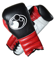 그랜트 복싱 글러브 GRANT TRAINING GLOVES LACE UP(BLACK/RED/WHITE)