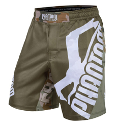 "FIGHTSHORTS ""STORM WARFARE""-WOODLAND CAMO"