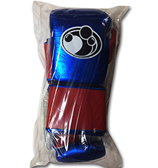 그랜트 복싱 글러브 PRO VELCRO TRAINING GLOVES  (14OZ, METALLIC BLUE/RED/WHITE)