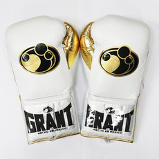 그랜트 글러브 Grant Boxing Gloves white  Pro Fight Gloves