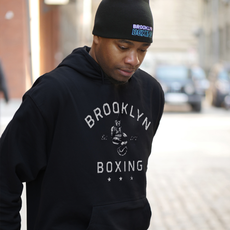 브루클린 복싱 [Brooklyn] Men's Hanging Gloves Hoodie