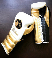 그랜트 글러브 Grant Boxing Gloves White_Gold_Black Pro Fight Gloves