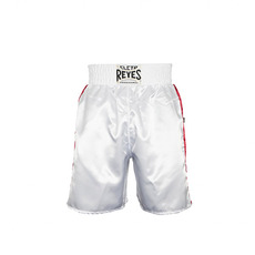 레예스 복싱 트렁크 Cleto Reyes Boxing trunk in satin polyester(White-Green-Red)[M,L]