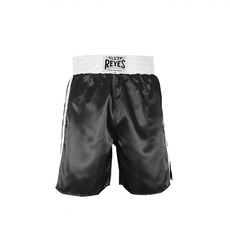 레예스 복싱 트렁크 Cleto Reyes Boxing trunk in satin polyester(Black&White)[M,L]