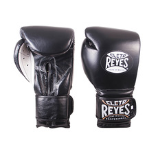 레예스 훅앤룹 트레이닝 글러브 16온스 Cleto Reyes Hook and Loop Closure Training Gloves 16oz (Black)