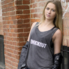 브루클린 복싱 [Brooklyn] Women's Knockout Racerback Tank Top