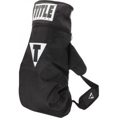 타이틀 글러브 숄더백 TITLE BOXING GLOVE SHOULDER SACK PACK(BLACK/RED)