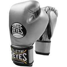 레예스 글러브 Cleto Reyes Lace up Hook and Loop Hybrid Boxing Gloves (Titanium)