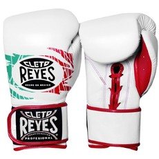 레예스 글러브 Cleto Reyes Lace up Hook and Loop Hybrid Boxing Gloves (Mexican)