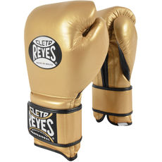 레예스 훅앤룹 트레이닝 글러브 Cleto Reyes Hook and Loop Closure Training Gloves (gold)