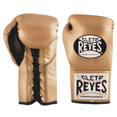 레예스 경기용 글러브 Cleto Reyes Official Professional Boxing Gloves(gold)