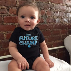 브루클린 복싱 [Brooklyn] Future Champ Onesie - Black