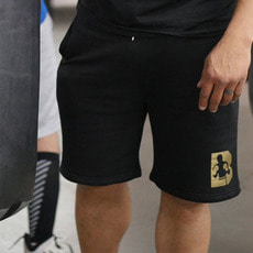 브루클린 복싱[Brooklyn] Men's Gold Logo Shorts