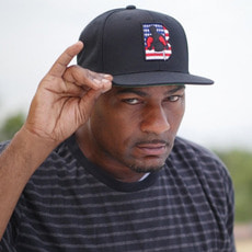 브루클린 복싱 [Brooklyn] Stars & Stripes Logo Snapback