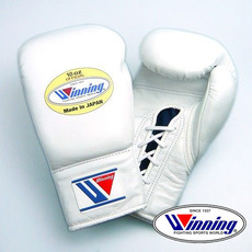 위닝 복싱글러브 MS-300 Winning Lace Up Pro Fight Gloves 10oz