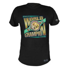 WBC WORLD CHAMPION BLACK 티셔츠 (Playera WORLD CHAMPION NEGRO)