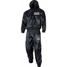 TITLE SAUNA SUIT WITH HOOD