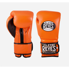 클레토 레예스 훅앤룹 트레이닝 글러브 14온스 Cleto Reyes Hook and Loop Closure Training Gloves 14oz (Orange)