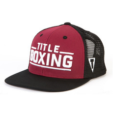 타이틀 복싱 캡모자 TITLE BOXING JUNCTION ADJUSTABLE CAP - FLAT BILL (3COLOR)