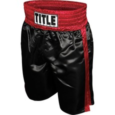 타이틀 엣지 복싱 트렁크 TITLE EDGE BOXING TRUNKS BLACK/RED
