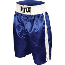 타이틀 엣지 복싱 트렁크 TITLE EDGE BOXING TRUNKS BLUE/WHITE