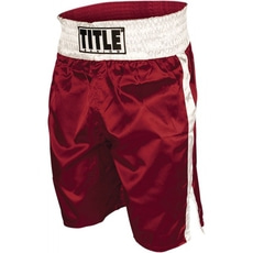 타이틀 엣지 복싱 트렁크 TITLE EDGE BOXING TRUNKS RED/WHITE