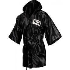 타이틀 스톡 풀 렝스 로브 TITLE STOCK FULL LENGTH ROBE (M,L) BLACK