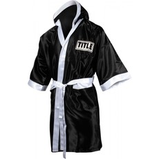 타이틀 스톡 풀 렝스 로브 TITLE STOCK FULL LENGTH ROBE (M,L) BK/WH