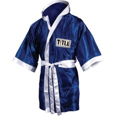 타이틀 스톡 풀 렝스 로브TITLE STOCK FULL LENGTH ROBE (M,L) ROYAL/WHITE