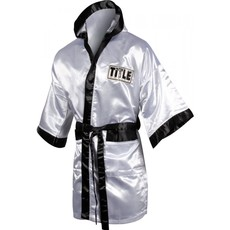 타이틀 스톡 풀 렝스 로브TITLE STOCK FULL LENGTH ROBE (M,L) WHITE/BLACK