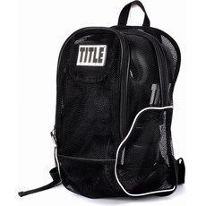 타이틀 메쉬 이큅먼트 백팩 TITLE MESH EQUIPMENT BACK PACK BLACK